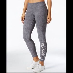 Calvin Klein Performance Grey Leggings Size Small